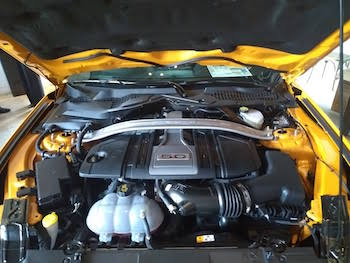 a modern engine with drive-by-wire throttle body