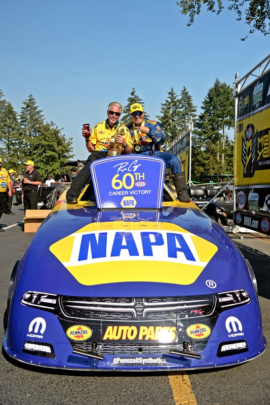 Ron Capps Races to Milestone 60th Win at Seattle
