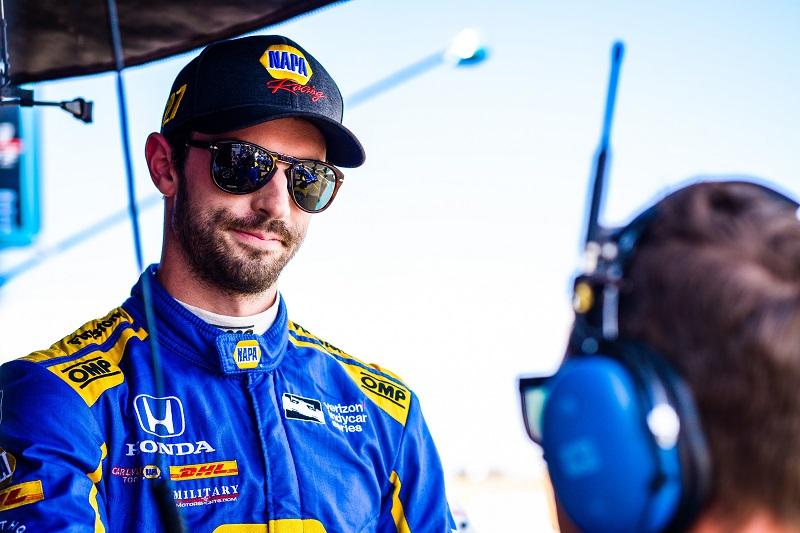 |Photographer: Jamie Sheldrick|Session: practice|Event: Grand Prix Of Sonoma|Circuit: Sonoma Raceway|Location: Sonoma, CA|Series: Verizon IndyCar Series|Season: 2018|Country: US|Car: Honda|Number: 27|Team: Andretti Autosport|Driver: Alexander Rossi|