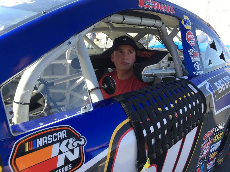 Christopher Bell NAPA Belts Hoses Toyota Dirt Track Las Vegas 2018