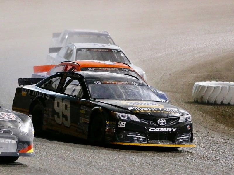 Cole Rouse 99 NAPA Filters Toyota Dirt Track Las Vegas 2018