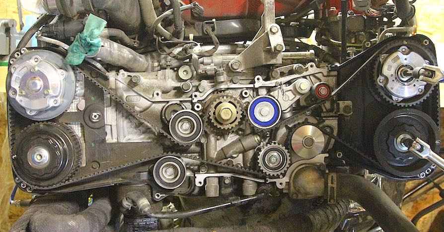 Replace your car's timing belt before it causes big problems for the engine.