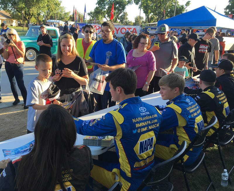 Cole Rouse first career win KN West 2018 NAPA Roseville Deegan Kraus Eggleston