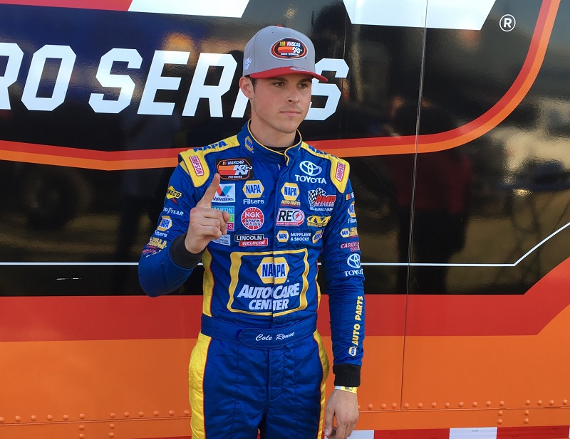 Cole Rouse first career win KN West 2018 NAPA Roseville pole