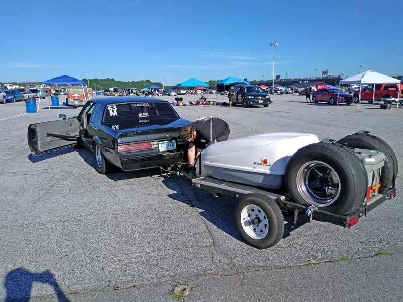 Just your average turbo Buick towing a trailer.