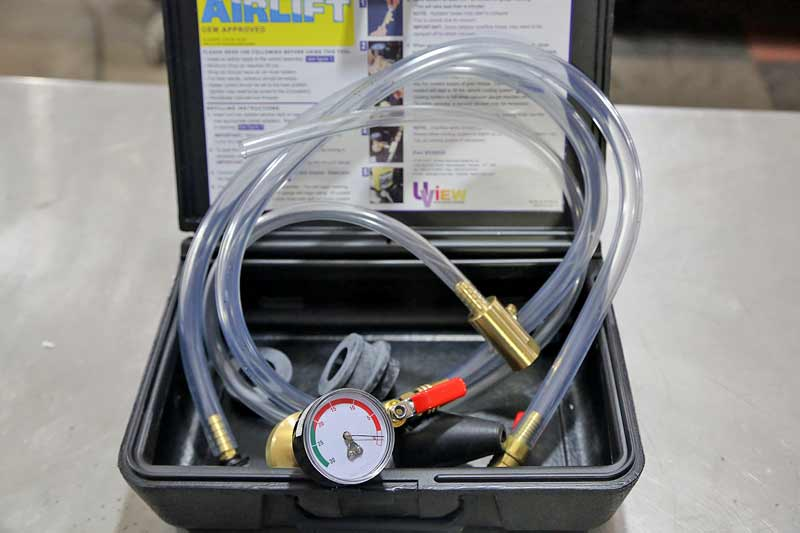 Coolant Refill / Air Bleeder Tool Set