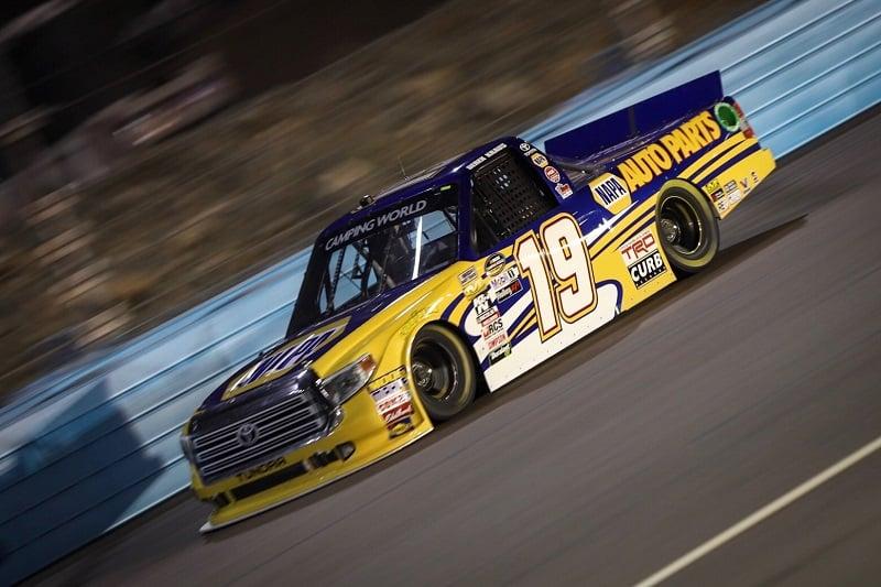 Derek Kraus NASCAR Camping World Truck Series debut Phoenix 2018 race