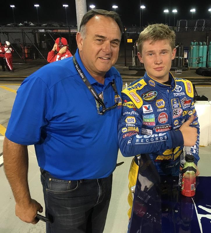 Derek Kraus NASCAR Camping World Truck Series debut Phoenix 2018 with Bill McAnally