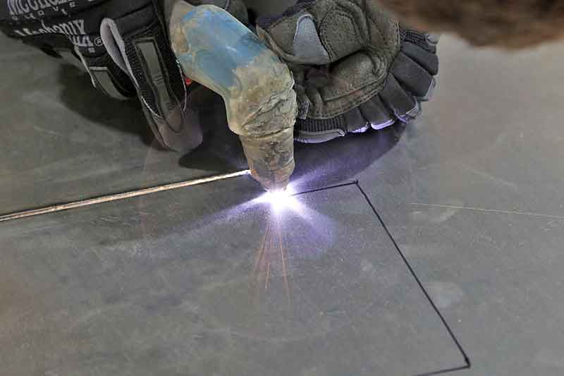 Cutting metal is easy with a plasma torch, but there are some safety protocols and tricks you need to know.