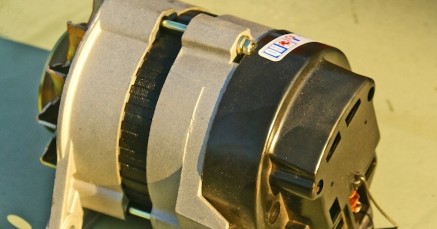 A car's alternator. Your car's electrical system is compromised of multiple components. Here's how to tell what kind of alternator your car has.