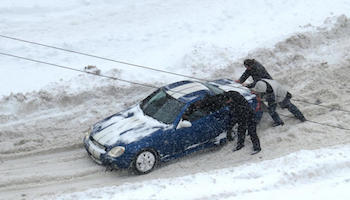 Using snow tires is about more than just not getting stuck!