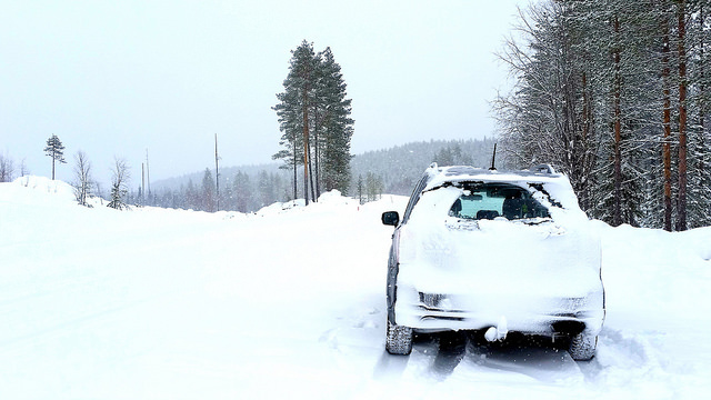 Car in snow, but how does cold weather affect your car?