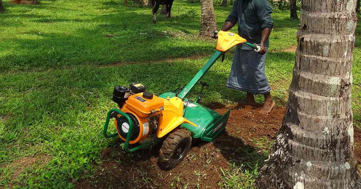 How to fix a rototiller