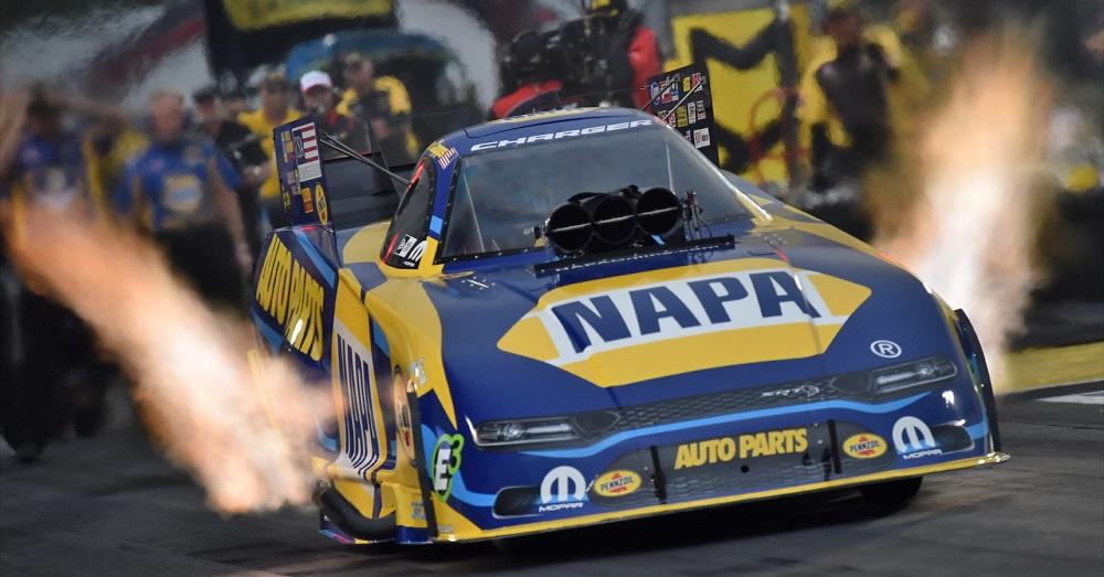 Ron-Capps-NAPA-AUTO-PARTS-funny-car-NHRA-Houston-2019-candles