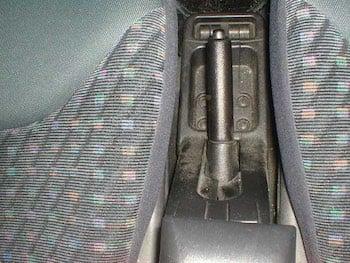 Parking brake handle