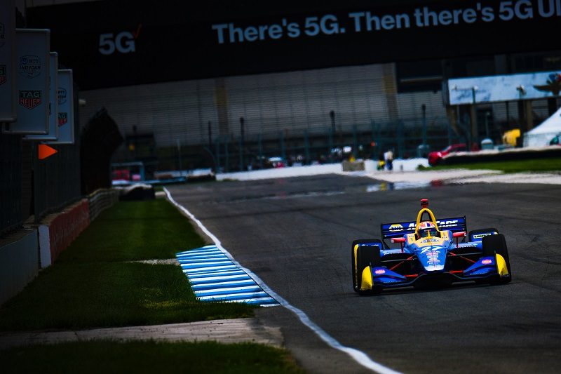 |Photographer: Jamie Sheldrick|Session: race|Event: INDYCAR Grand Prix|Circuit: Indianapolis Motor Speedway|Location: Speedway, Indiana|Series: NTT IndyCar Series|Season: 2019|Country: US|Car: Dallara DW12 UAK18|Number: 27|Team: Andretti Autosport|Driver: Alexander Rossi|