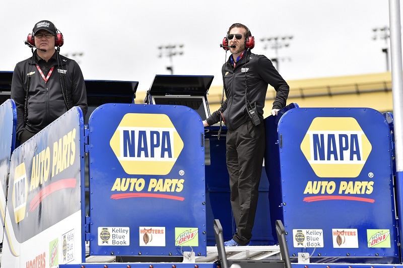 #9: Chase Elliott, Hendrick Motorsports, Chevrolet Camaro NAPA AUTO PARTS and Alan Gustafson