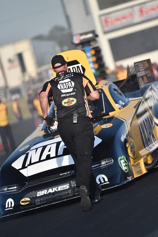 Ron Capps NAPA Brakes funny car NHRA Virginia Nationals winner