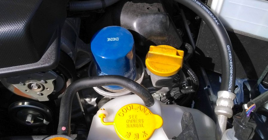 An engine oil filter. You might have heard one of these five oil myths, but here's why they're so dangerous.