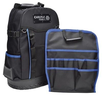 a tool backpack