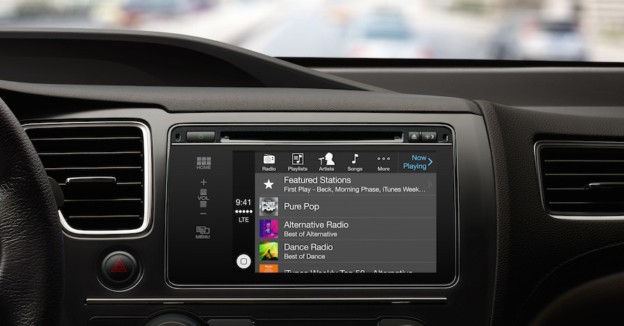 A center console with Apple CarPlay compatibility. These are the best luxury car features in mainstream vehicles.