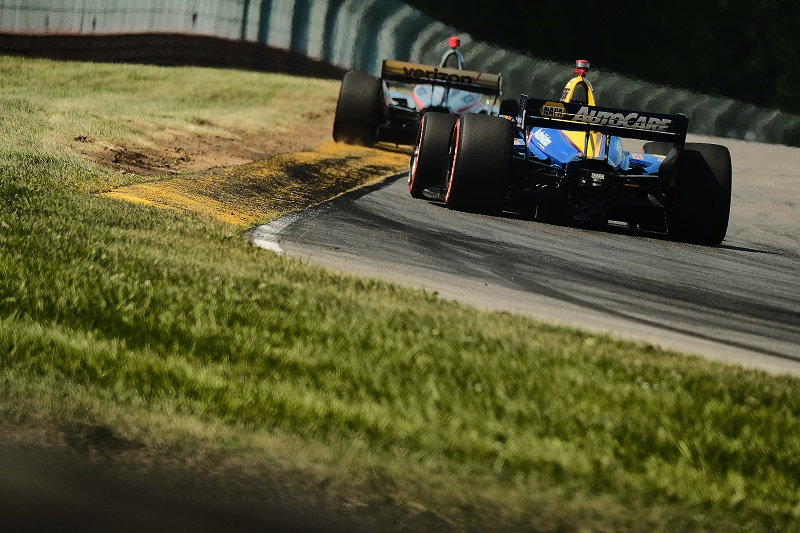 |Photographer: Jamie Sheldrick|Session: race|Event: Honda Indy 200|Circuit: Mid-Ohio Sportscar Course|Location: Lexington, Ohio|Series: NTT IndyCar Series|Season: 2019|Country: US|Car: Dallara DW12 UAK18|Number: 27|Team: Andretti Autosport|Driver: Alexander Rossi|