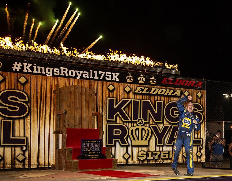 Brad Sweet 49 NAPA AUTO PARTS Outlaws Kings Royal 2019 Eldora