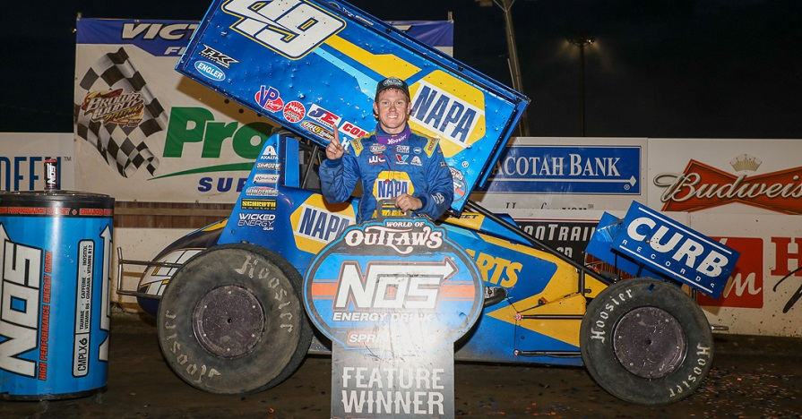 Brad Sweet Outlaws points leader Brown County 2019