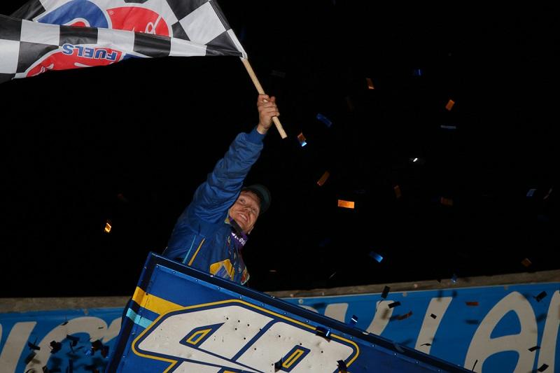 Brad Sweet Outlaws points leader Cedar Lake 2019
