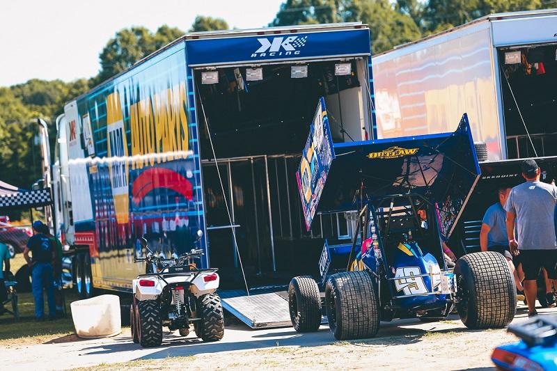Brad Sweet World of Outlaws sprint car NAPA AUTO PARTS KKR Wilmot