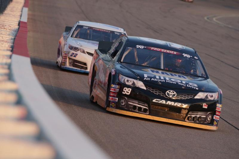 Brittney Zamora NASCAR KN Pro Series East West Combo Iowa Speedway