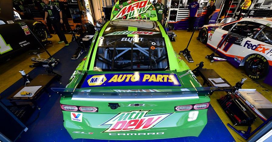 Chase Elliott 2019 Kentucky Speedway Mtn Dew NAPA 9