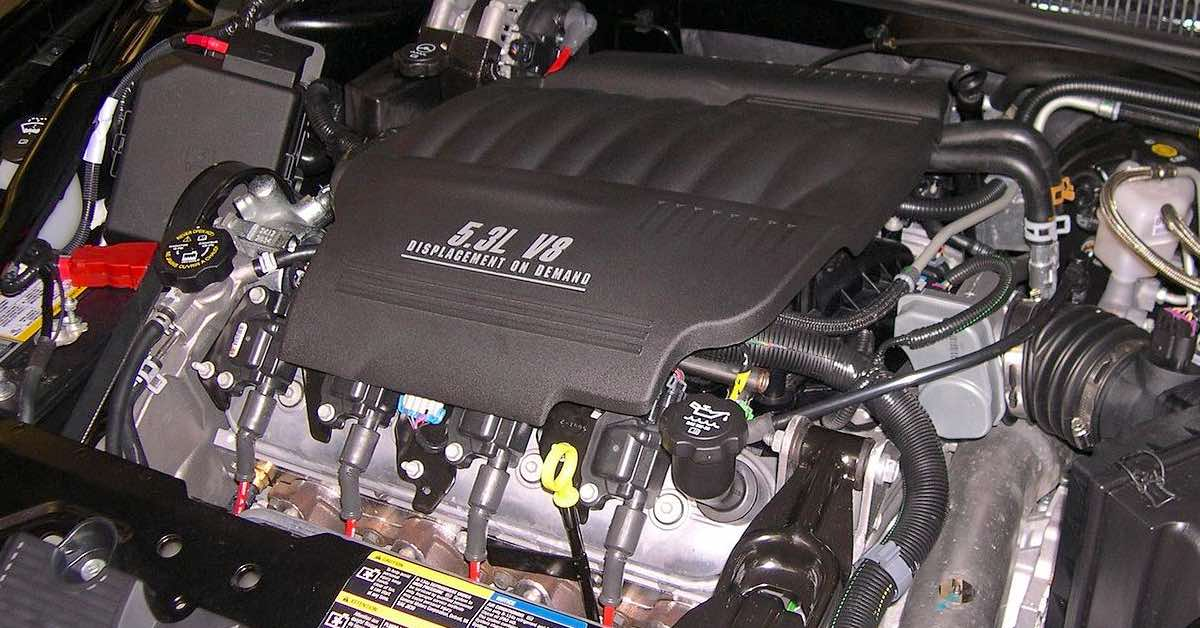 Impala V8 with active fuel management