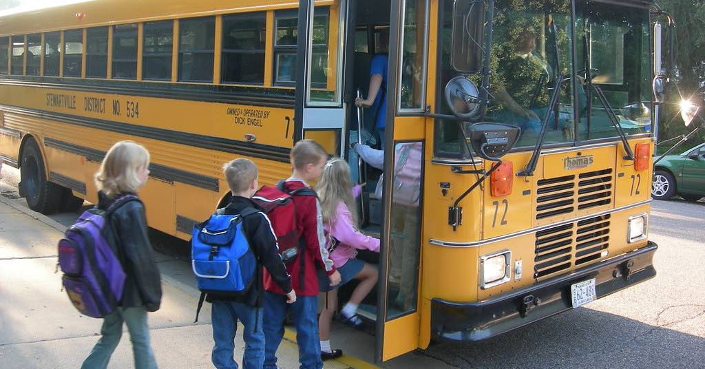 A school bus. Getting ready to go back to school? Here are some maintenance items you should look at before the busy school year begins.
