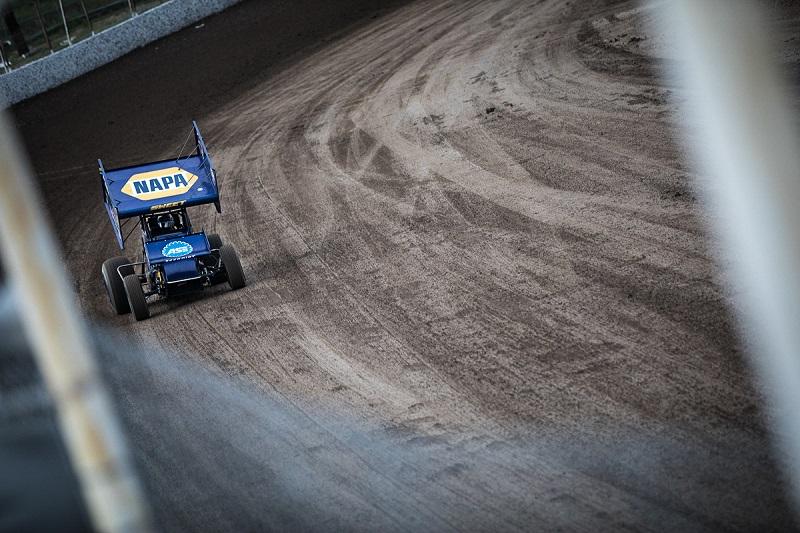 Brad Sweet Black Hills Big Sky NAPA AUTO PARTS 49 Outlaws sprint car