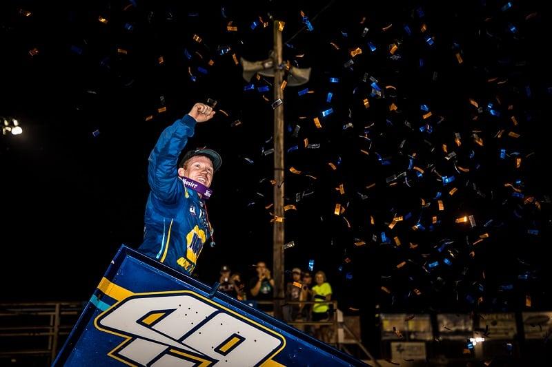 Brad Sweet NAPA AUTO PARTS 49 Outlaws KKR I-55 Pevely win