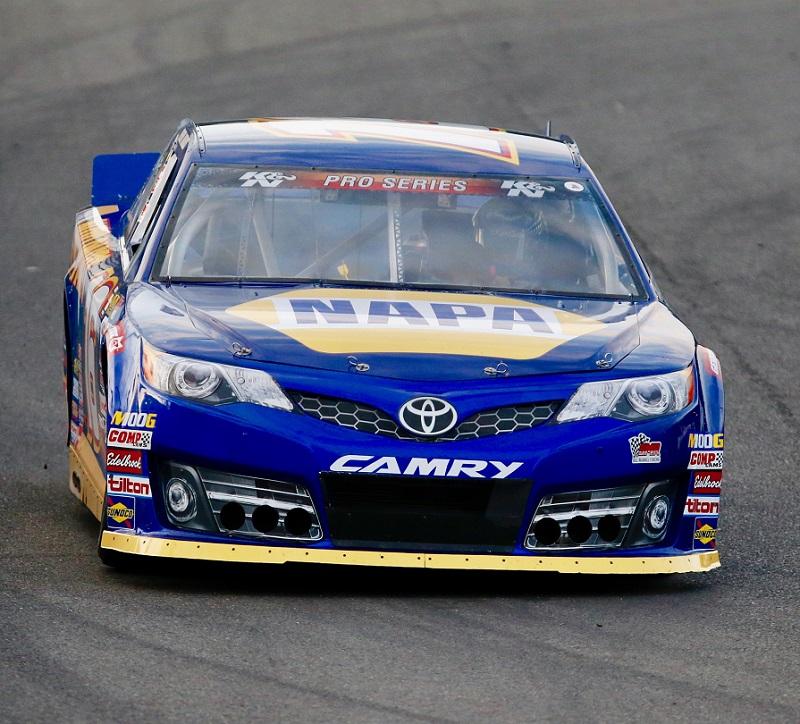Derek Kraus Hailie Deegan Brittney Zamora NAPA AUTO PARTS BMR NASCAR KN West Evergreen