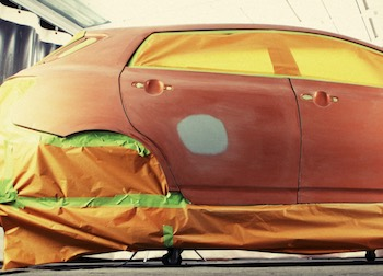 Body Filler and Repainting is the Most Difficult Method How to Fix a Fender Bender