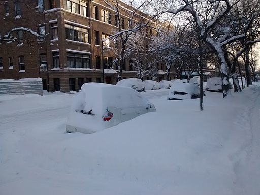 Cars parked in snow could use remote car starters