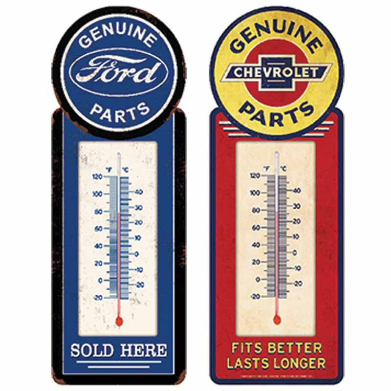 Metal Shop Thermometer
