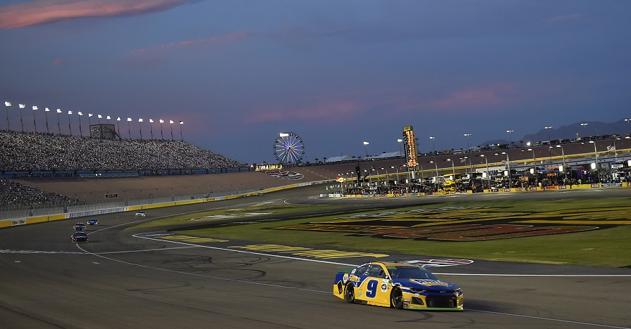 #9: Chase Elliott, Hendrick Motorsports, Chevrolet Camaro NAPA Filters
