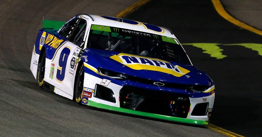 #9: Chase Elliott, Hendrick Motorsports, Chevrolet Camaro NAPA