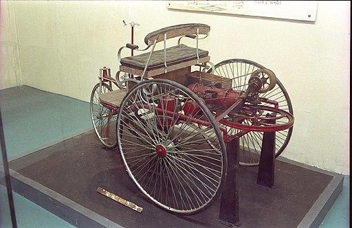First Car by Karl Benz-1883