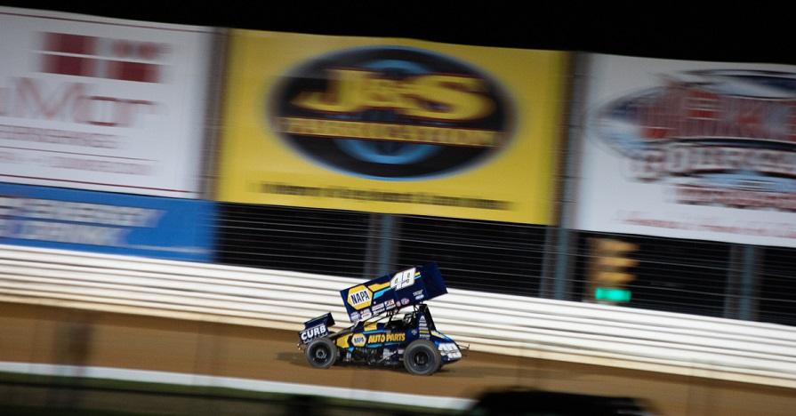 Brad Sweet Port Royal Speedway 2019 NAPA AUTO PARTS 49