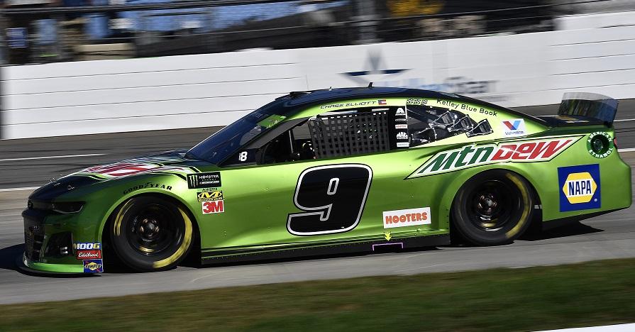 #9: Chase Elliott, Hendrick Motorsports, Chevrolet Camaro Mountain Dew