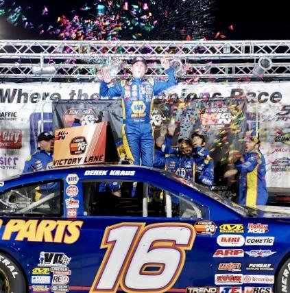 Derek Kraus NASCAR K&N Pro Series West Kern County 2019 winner