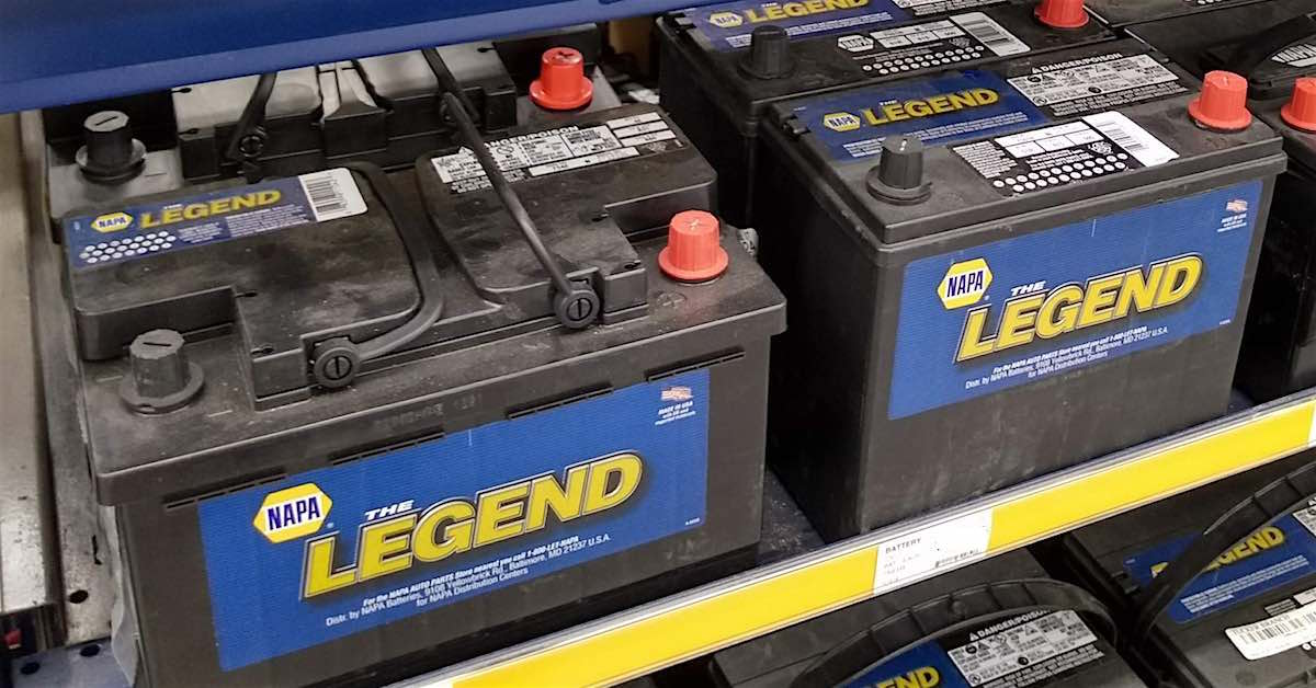 A car battery. A car battery may not seem like an important component in your engine bay, but they're complicated energy storage devices that are responsible for a crucial chemical reaction.