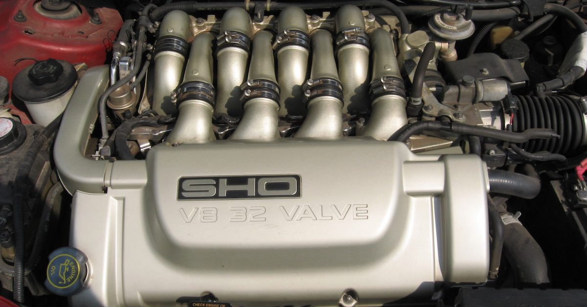 An engine that relies on camshaft and crankshaft Sensors