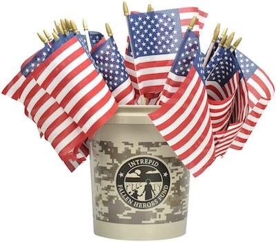 Intrepid Fallen Heroes Fund (IFHF) bucket