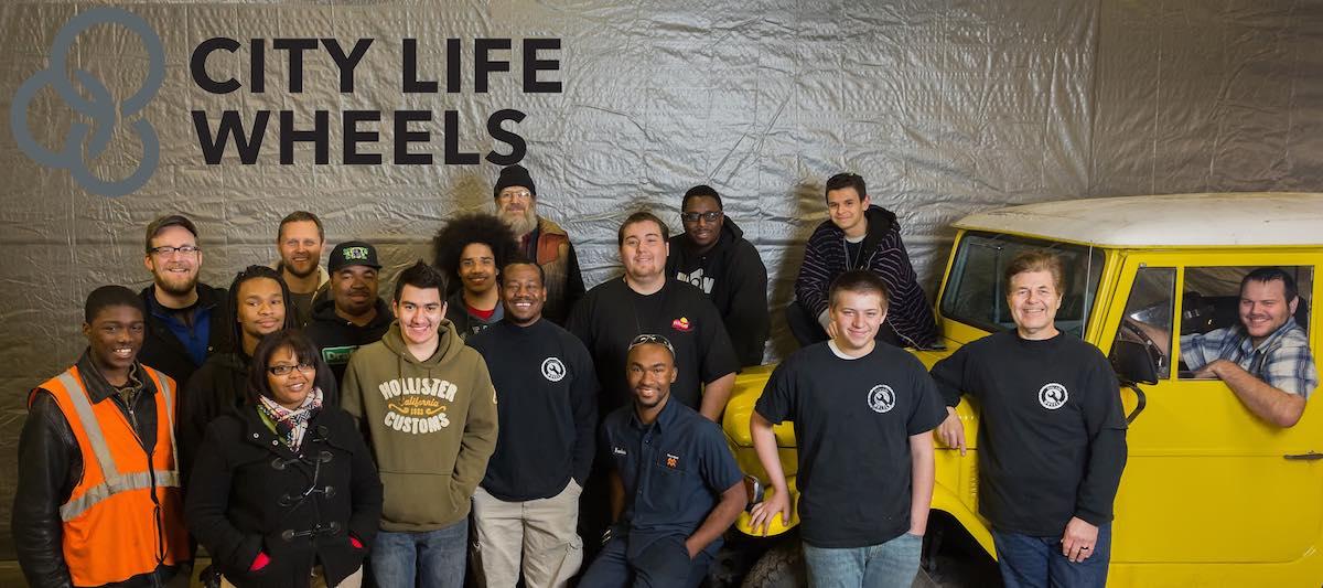 City Life Wheels Repair Shop team